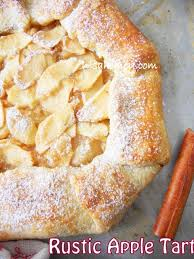 Rustic Apple Tart With Glazedetailed Step By Tutorial