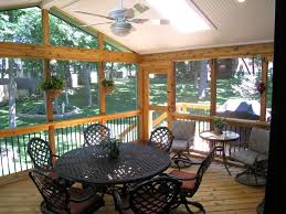 Inexpensive Patio Floor Ideas by Cheap Screened In Porch Ideas Modern Home Design With Screen Porch