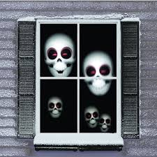 Halloween Ghost Projector by Mr Christmas Digital Decoration Window Projector Kit For Halloween