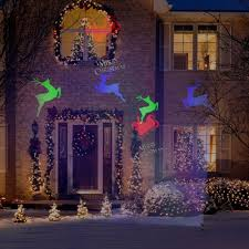 Halloween Chasing Ghosts Projector Light by Gemmy Lightshow Projection Compare Prices On Gosale Com