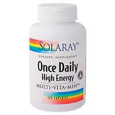 ce Daily High Energy Multi Vitamin 120 Capsules by Solaray at