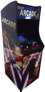 Vertical Upright Arcade Machine