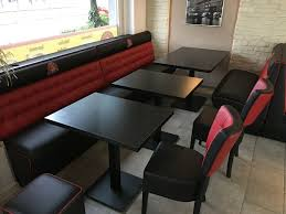 dinerbank sitzbank gastro möbel imbiss restaurant