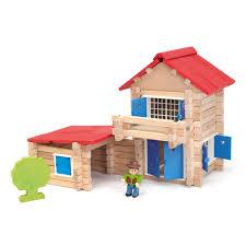 la maison du jouet maison en bois 140 pièces jeujura king jouet lego planchettes