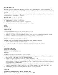 Sample Resumes For Professionals How To Change Resume Format Career New Examples Cover Letter Professional Samples