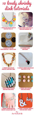 Shrinky Dink Jewelry Tutorial Craft Diy Indie Necklace