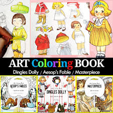 Coloring Bookcoloring Colouring Book Kids Adult Hobby Game Colored Pencil