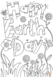 Click The Happy Earth Day Coloring Pages To View Printable Version Or Color It Online Compatible With IPad And Android Tablets