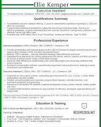Resume Template Executive Assistant Resume Template For