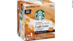 Gevalia Pumpkin Spice Latte Keurig by Starbucks Caramel Caffe Latte Specialty Coffee Beverage K Cups 8 8