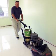 Floor Buffer Maintenance by The Network Flooring Complete Commercial Flooring Process
