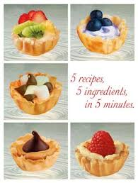 5 dessert recipes with 5 ingredients or less in 5 minutes
