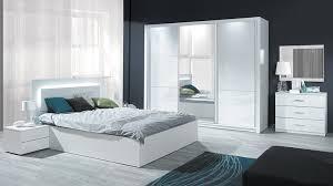 chambre complete blanche chambre complète laquée siari prix chambre complète mobilier moss