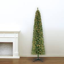 Dunhill Fir Christmas Trees by 75 Foot Prelit Artificial Christmas Tree Green River Spruce Slim