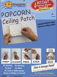 Patching Popcorn Ceiling Paint by Self Adhesive Popcorn Ceiling Patch Amazon Com