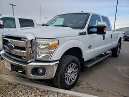 100 Ford Sterling Truck White 2013 Super Duty F350 SRW Used For Sale