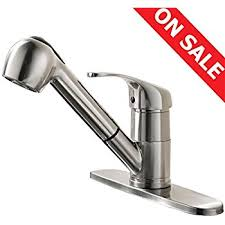 Commercial Kitchen Faucets Amazon by Comllen Commercial Stainless Steel Single Handle Pull Out Kitchen