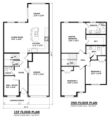 Story House Plans by 2 Story House Plans Without Garagehouse Plans Exles House