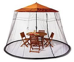 Mosquito Netting For 11 Patio Umbrella by Amazon Com Umbrella Gazebo Mosquito Net Black Garden U0026 Outdoor