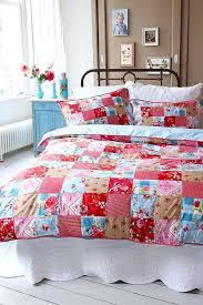 Master Bedroom Quilt Ideas Bedding Collections Patchwork Blue Nightstand
