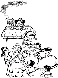 Mother Goose Coloring Pages