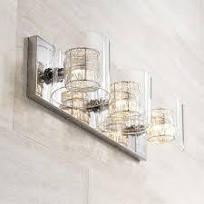 Home Depot Bathroom Lighting Brushed Nickel by Bathroom Elle Decor Bathrooms 2 Light Wall Sconce Brushed Nickel