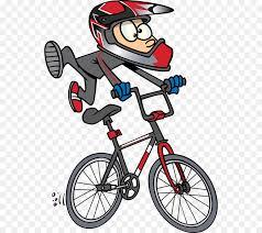 BMX Bike Cycling Clip Art