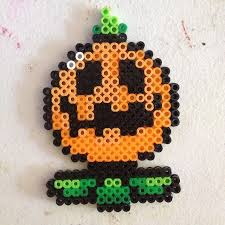 Halloween Perler Bead Templates by 87 Best Perler Halloween Images On Pinterest Beads Craft