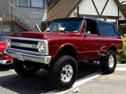 1968 Chevrolet K-5 Blazer | Nice Trucks & SUVs | Pinterest | Chevy ...