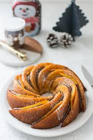 recette de cuisine cake recette de bundt cake orange et nutella stella cuisine
