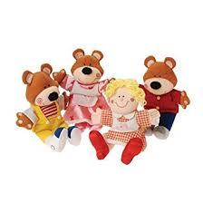 Goldilocks The Three Bears Classic Story Puppets
