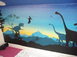 Dinosaur Wall Mural Wonderland Murals Full Images