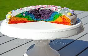 ein neuer regenbogenkuchen rezepte für familien kreatives