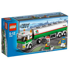 LEGO City 3180: Tank Truck: Amazon.co.uk: Toys & Games