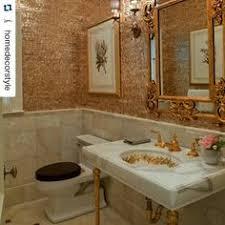 vintage sherle wagner 24k gold plated cherub basin set with sink