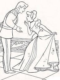 Cinderella Coloring Pages 23