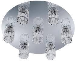 led 25 w decken licht glas klar wohnzimmer leuchte