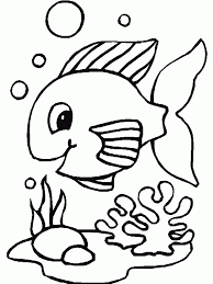 Coloring Pages Of Fish Best Page Disney