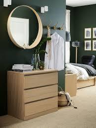 schlafzimmerspiegel in rund oder eckig ikea deutschland