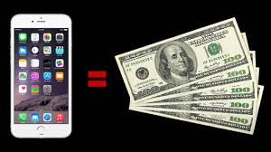 Sell Your Used iPhone For Cash line