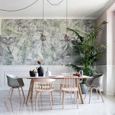weiße esszimmer mit rosa wandfarbe ideen design bilder