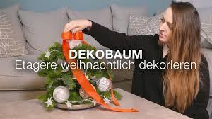 dekobaum etagere weihnachtlich dekorieren xxxlutz