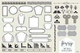100 Art Deco Shape 15 Vector Elements Images 418318 PNG Images PNGio