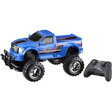 100 Rc Ford Truck New Bright 115 RC FullFunction 64V F350 Blue