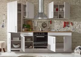 küche landhaus küchenblock küchenzeile komplettküche 270cm singleküche miniküche kleinküche weiß