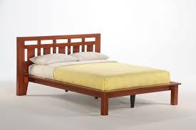natural nice wooden platform bed frame full bedroom also wood