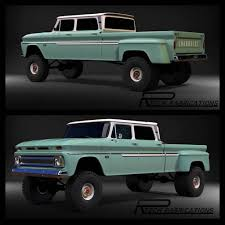 100 Older Chevy Trucks Rtech Fabrications Builds Really Cool Restored GM