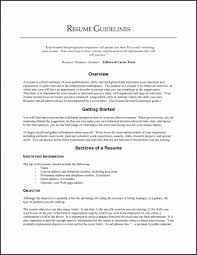 Libreoffice Resume Template Best Free Writing