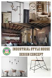 100 House Design Photo Industrial Style Concept Watonmunicom