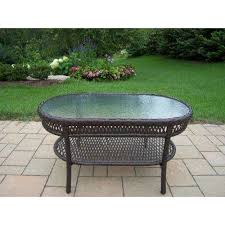 Oval Outdoor Coffee Tables Patio Tables The Home Depot